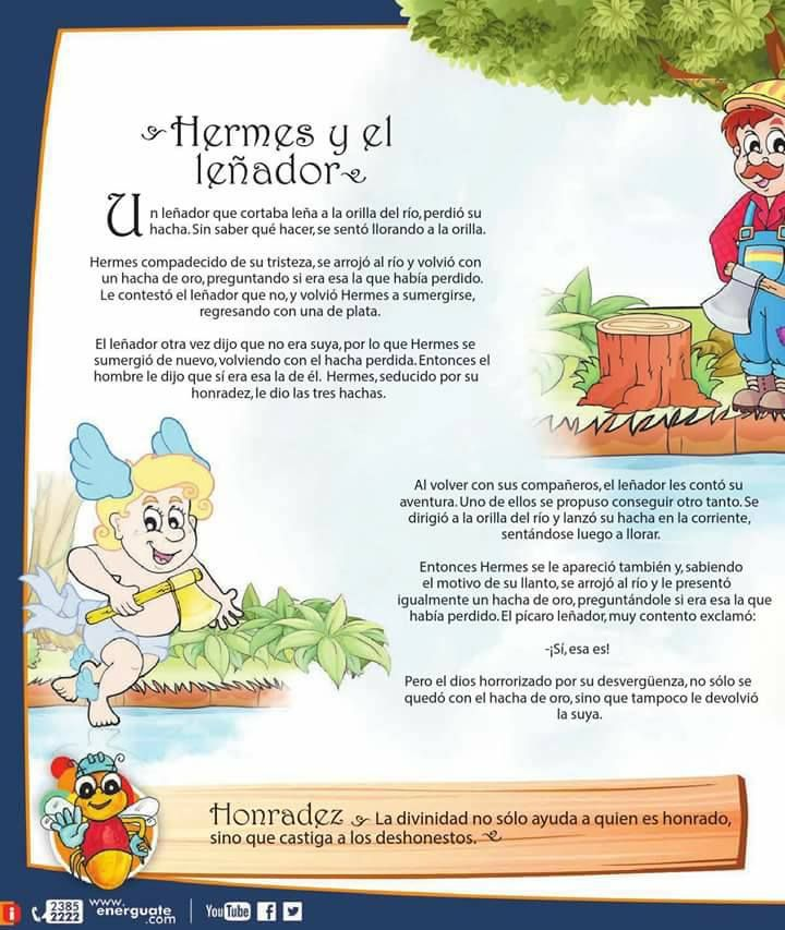 Hermes y el leñador HONRADEZ