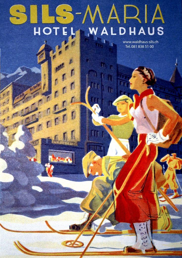 Martin Peikert, Hotel Waldhaus Sils-Maria, c. 1928