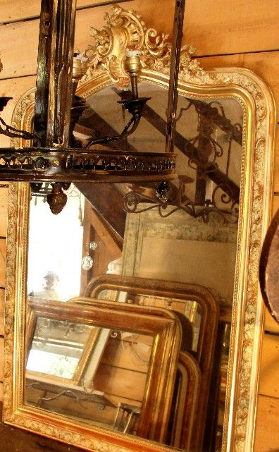 beautiful old mirrors