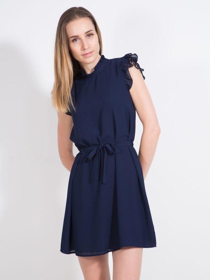 vestito blu smanicato please 59 euro