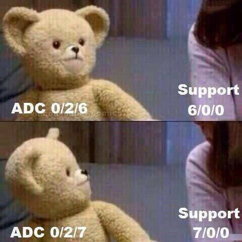 I am that support. Always cleaning up after impatient ADC brats.