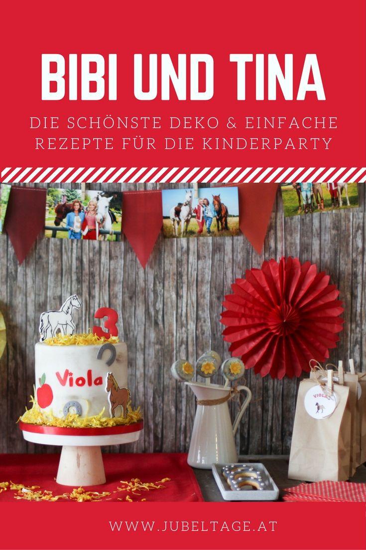 Bibi und Tina Geburtstag inkl. Torte & Sweet Table