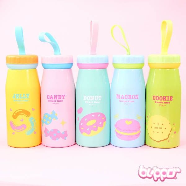 Sweets Stainless Steel Bottle - Home & Deco - Other Products | Blippo.com - Japan & Kawaii Shop