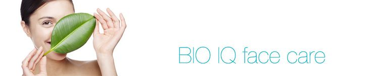 BIO IQ face care only with truly natural cosmetics