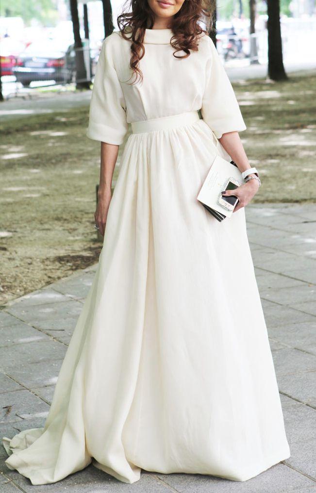 all white / sophisticated. Больше вдохновения на weddywood.ru