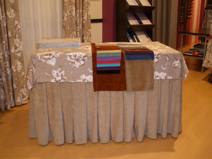 Mesa de camilla con tapete a juego gran variedad en dise o - Vestir mesa camilla ...
