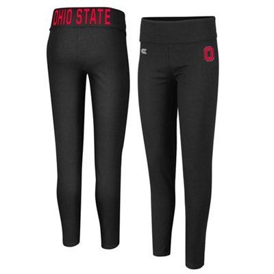 Ohio State Buckeyes Ladies Pivot Leggings - Black
