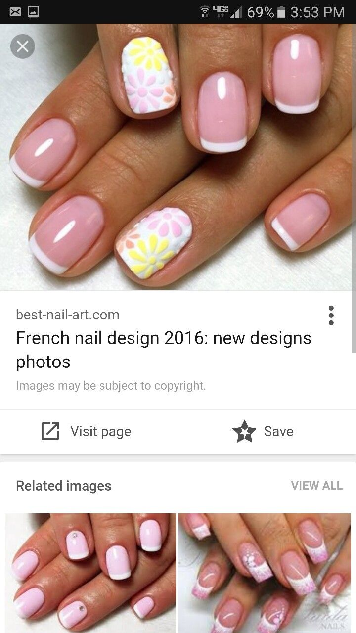 32 best nail ideas images on Pinterest | Nail arts, Nail decorations ...
