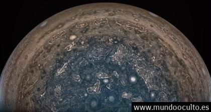 Júpiter pudo empezar como un mundo de agua evaporada