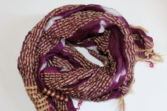 Purple scarves from Mayil  tie dye scarf   baandini scarf by Mayil