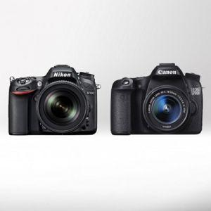 Adu Banding Nikon D7100 vs Canon 70D DSLR level tertinggi APS-C