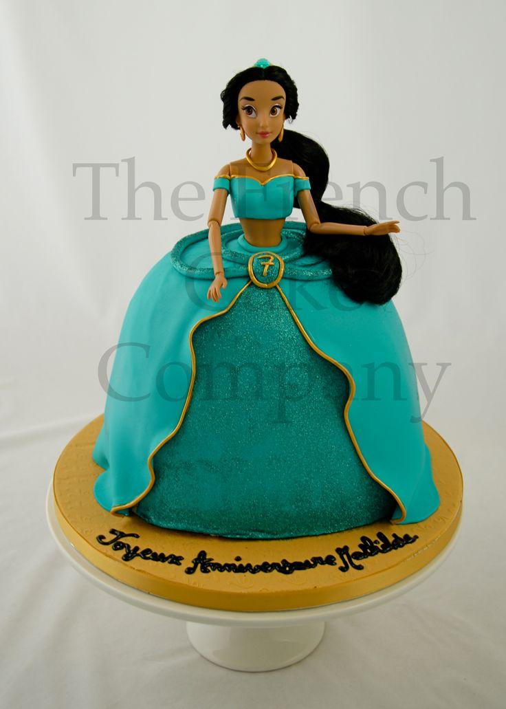 Best 25 princess jasmine cake ideas on pinterest jasmine birthday cake princess jasmine - Gateau anniversaire recette ...