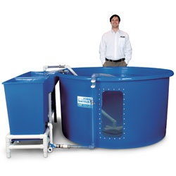 Would like to buy a tank similar to this in a food grade for my Tilapia....does anyone know where I can get one?