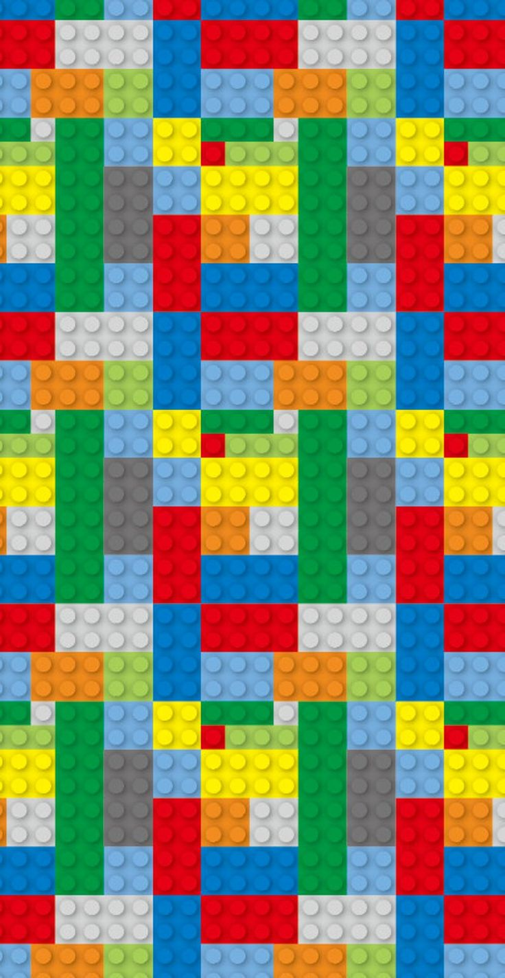 Removable Wallpaper, Peel and stick wallpaper, lego