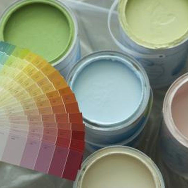 use latex paint to tint boring cement to produce unique and colorful concrete
