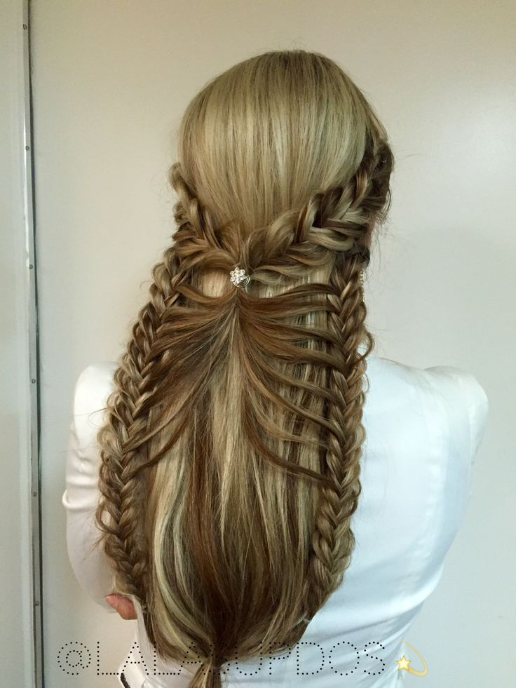 468 Best Braids Images On Pinterest Easy Hairstyle Hair Ideas And