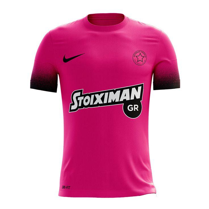 2016/17 Asteras Tripolis FC Nike Away Jersey (Pink)