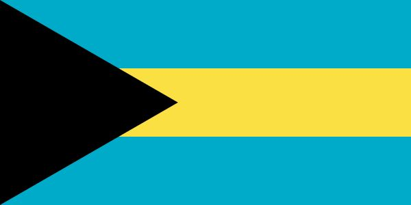 Flag of the Bahamas - Bahamas — Wikipédia