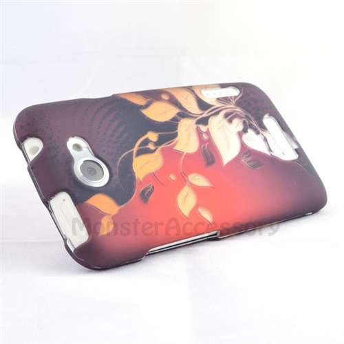 10 Coupon Code Pinthis Red Leaves Hard Cover Case For The Htc One X