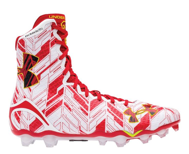 #LacrosseUnlimited #UnderArmour Highlight Lacrosse Cleats, Maryland #GoTerps