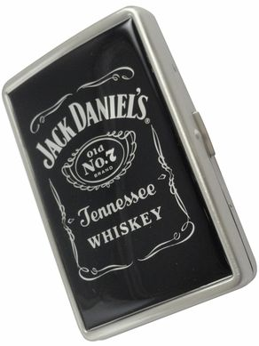 Jack Daniels Black Label Cigarette Case (100s & King)