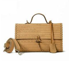 KILIKILI - Oriental Scroll Leather Tote - Limited Edition