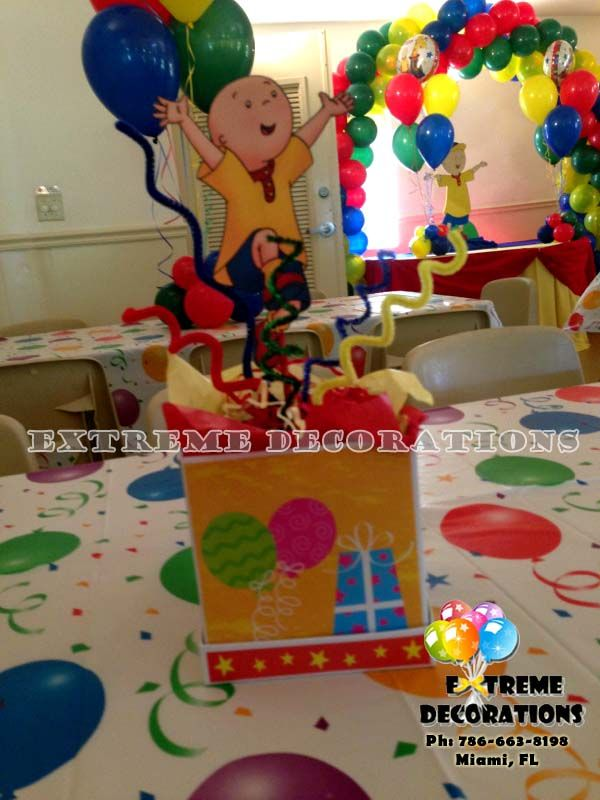 8 best Caillou Birthday Party Ideas images on Pinterest ...
