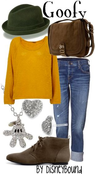 Goofy outfit by Disney bound! It is so cute