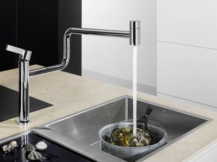 Download the catalogue and request prices of Pivot by Dornbracht, countertop kitchen mixer tap design Sieger Design