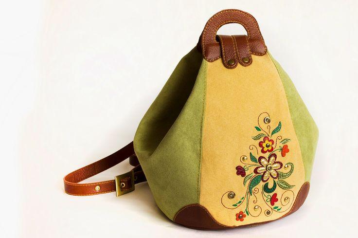 "Made by Arina Rasputina: Bag-backpack ""Spring"""
