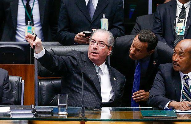 BRASILIA, DF, BRASIL, 16-04-2016, 14h00: Sessão de votação do impeachment da presidente Dilma Rousseff na câmara dos deputados. O presidente da câmara dep. Eduardo Cunha (PMDB-RJ) preside a sessão. (Foto: Pedro Ladeira/Folhapress, PODER)
