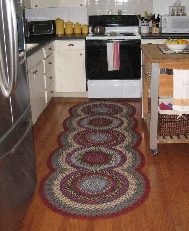 16 best kitchen runner rugs images on pinterest kitchen for Small rugs for kitchen