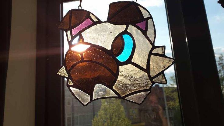 Rockruff ~ Pokémon ~ Stained Glass ~ RannDago