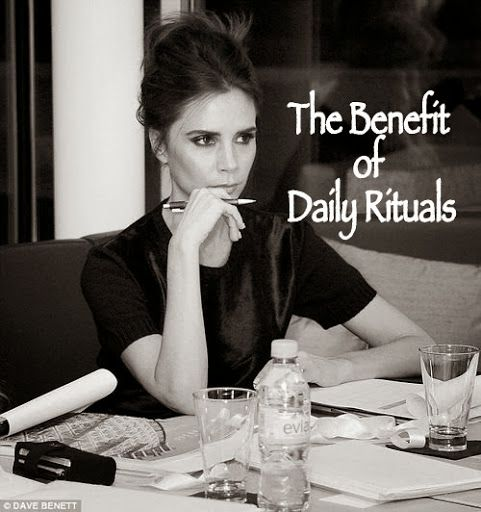 The Benefit of Daily Rituals