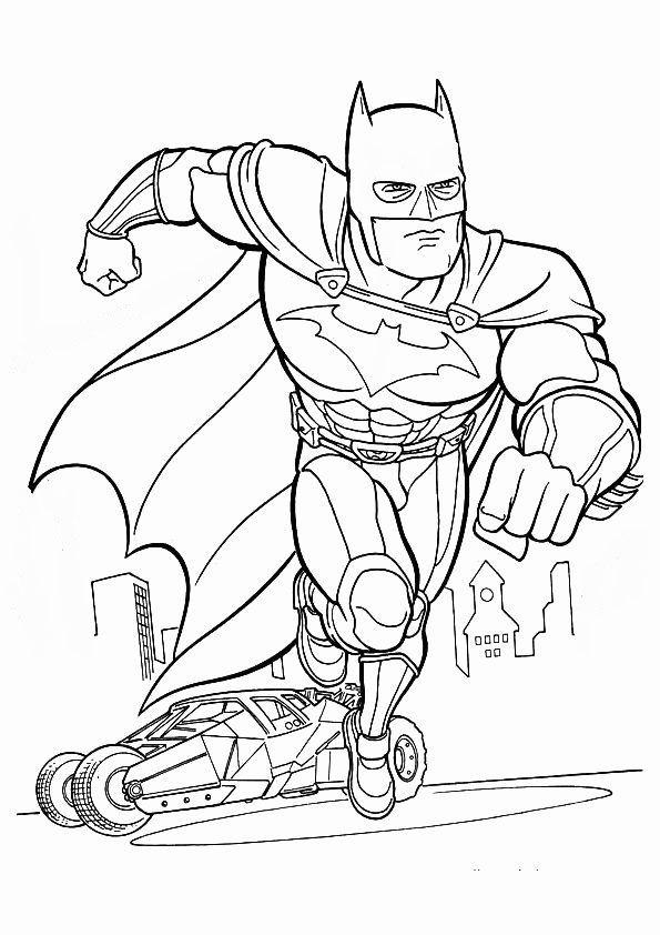 Batman-2 Superhelden malvorlagen Malvorlagen zum