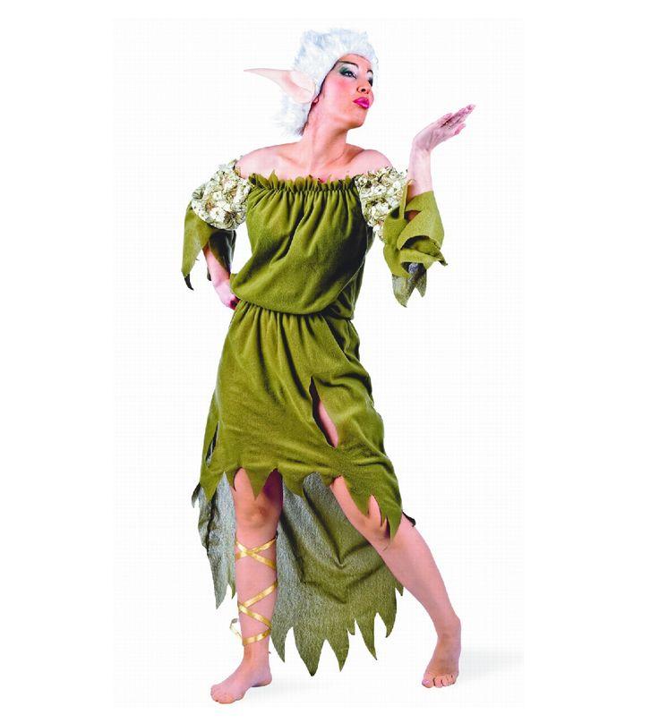 Kostüm Elfe für Damen