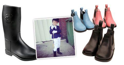 Paardrijlaarzen of jodphurs voor je kind