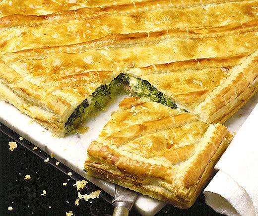 Broccoli-Lauch-Pastete