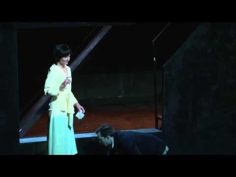 Czarodziejska góra / Akt I / partia Kławdii (Barbara Kinga Majewska) - YouTube