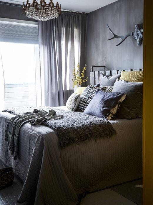 393 best IKEA Schlafzimmer u2013 Träume images on Pinterest Ikea - schlafzimmer weiß grau