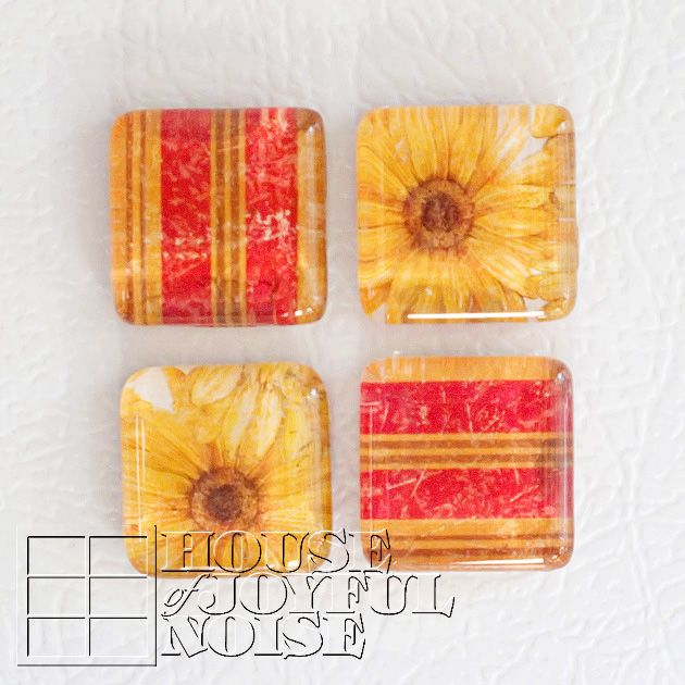 Glass Tile Pendants and Magnet Sets | Tutorial | Handmade Gifts