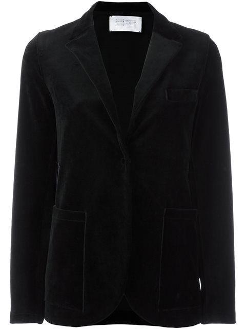 HARRIS WHARF LONDON patch pocket blazer. #harriswharflondon #cloth #blazer