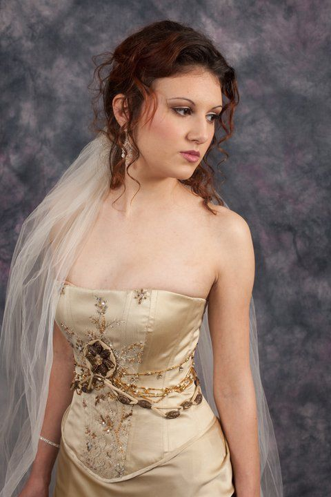 Corseted Edwardian Wedding Dress http://www.arcarocouture.com.au
