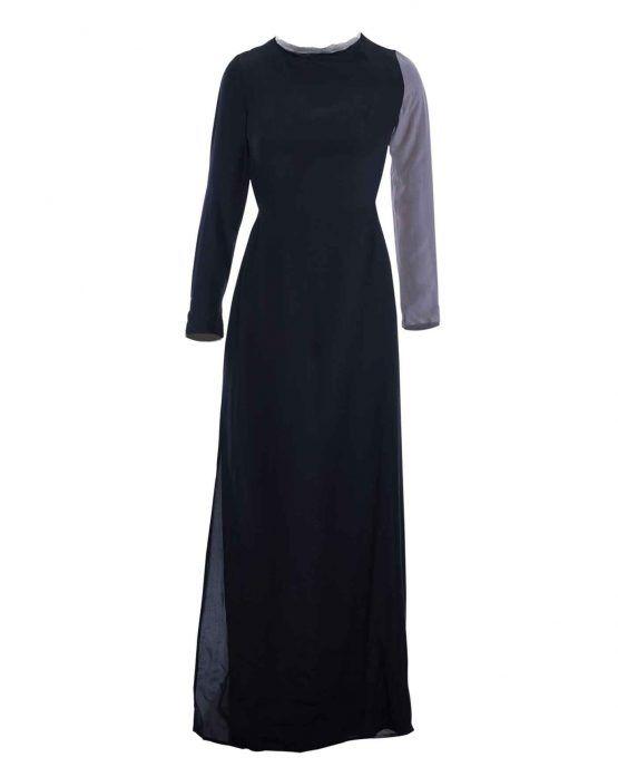 winter-kate-longsleeve-colorblock-maxi-dress