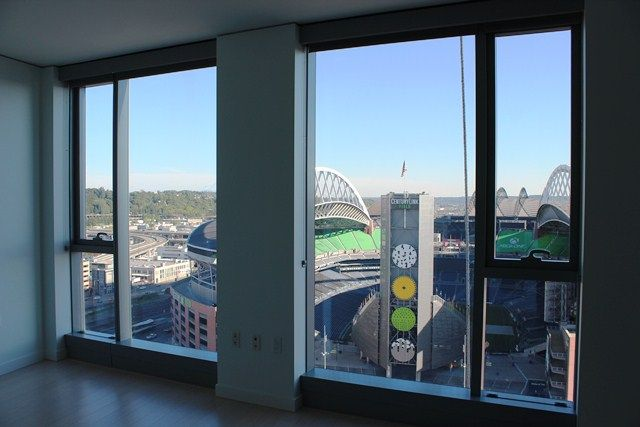 The Wave, An Amenity Filled Residential Tower with CenturyLink Field in Backyard