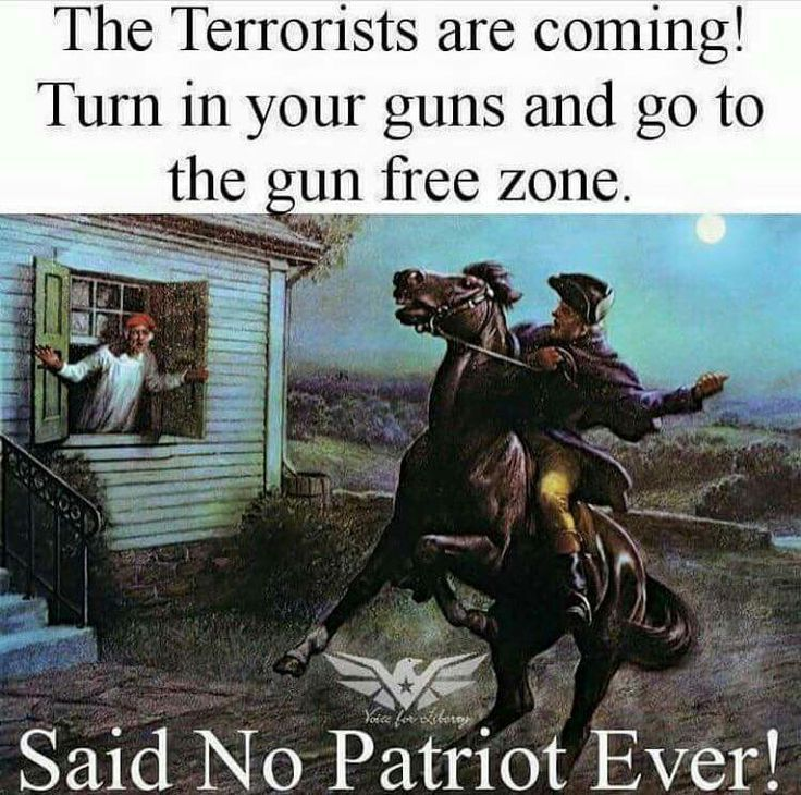 HELL NO THEY DIDN'T!!!! Wtf is going on with some of you 'Americans' today?!?! The 2nd amendment is YOUR constitutional right!!!!