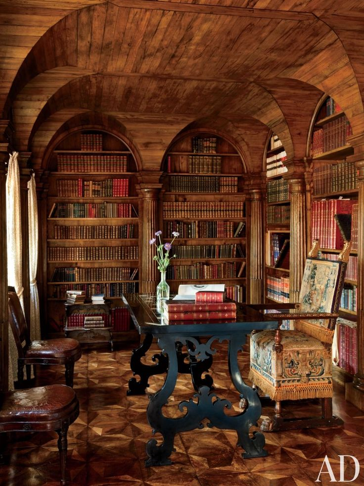 English Paneled Room: 258 Best Images About My Kind Of Library On Pinterest