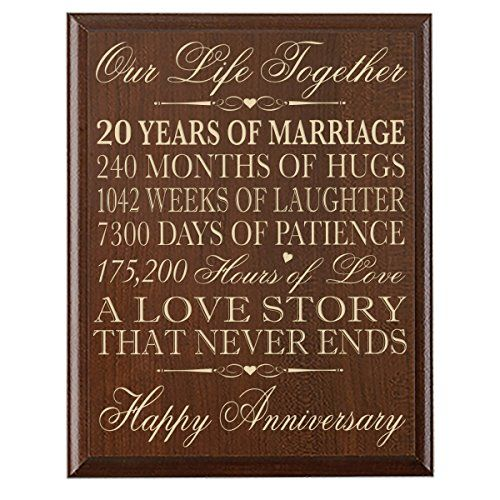 1 Year Anniversary Gifts For Her Yahoo : Couple,20th Anniversary Gifts for Her,20th Wedding Anniversary Gifts ...