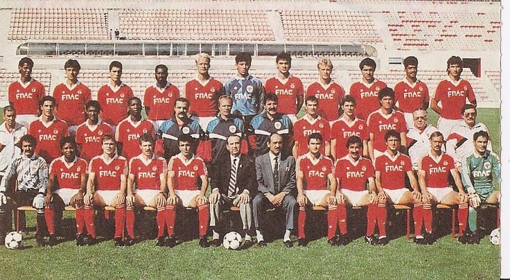 Plantel Benfica 89/90