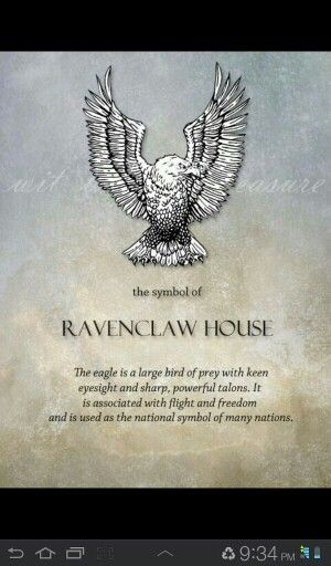 Ravenclaw House : Geek : Pinterest : Ravenclaw and Harry potter